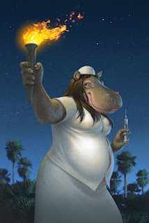 Tawaret : The Hippo goddess