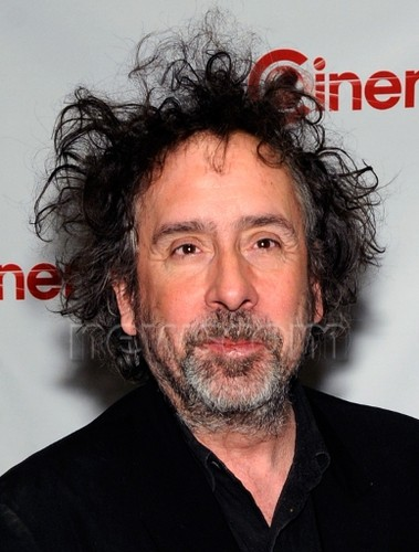 Tim burton at CinemaCon