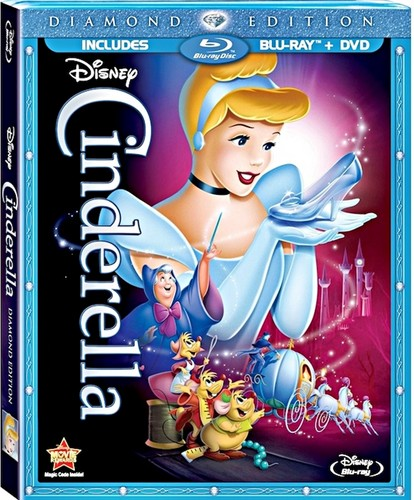 Walt Disney Blu-Ray Covers - Diamond Edition - Cinderella: Diamond Edition