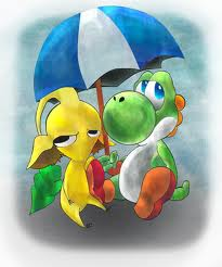 Yoshi and the Yellow pikmin