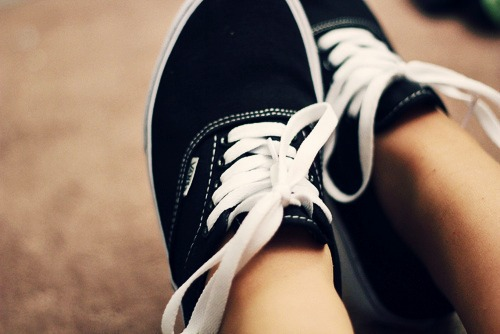 feel the VANS on your feet ♥