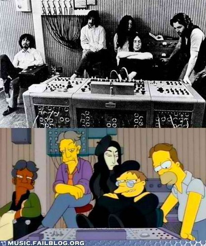 the simpsons/the beatles