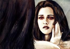 BELLA CULLEN (VAMPIRE IN MIRROR)