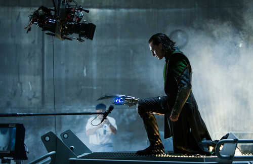 Behind the Scene