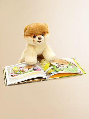 Boo plush and Boo book!