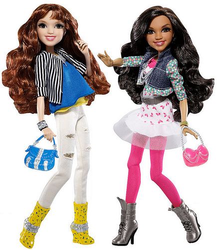 CeCe's doll and Rocky's doll season 1