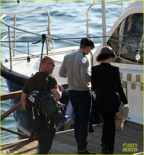 Daniel Craig & Rachel Weisz: Yacht Ride in Turkey
