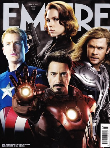 Empire Mag. - The Avengers cover Limited Edition
