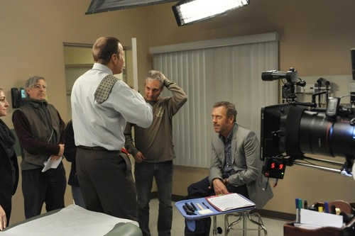 House M.D. - Swan Song (Retro-Special) -  Everybody Dies - 05/21/12 BTS Pictures