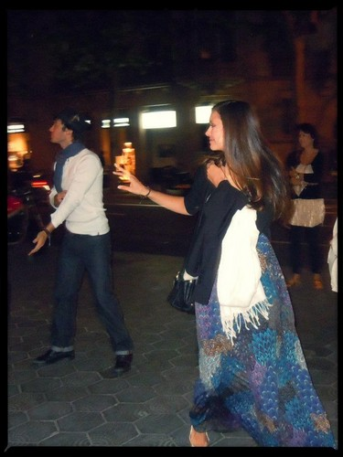 Ian and Nina in Barcelona