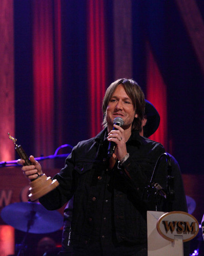 Keith Urban Inducted Into Grand Ole Opry