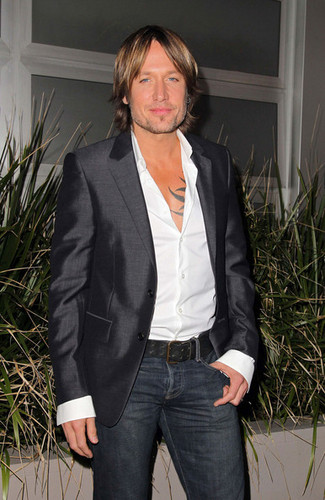 "Keith at launch party for ""The Voice"" Australia"