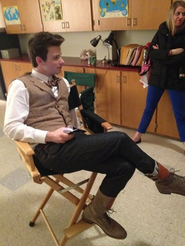 Last hari on set of glee for season 3