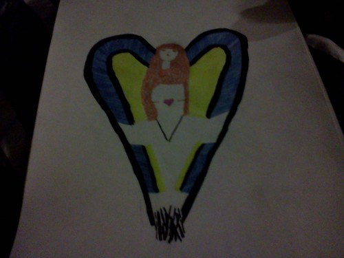 Lida's Angel Drawing