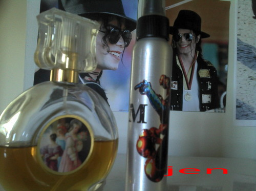 Michael's DNA perfume made from his hair and Bal a Versailles
