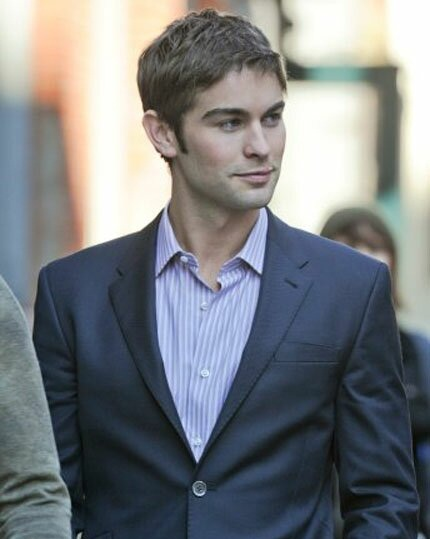 Nate - Gossip Girl - Behind the Scenes -  February 01, 2012