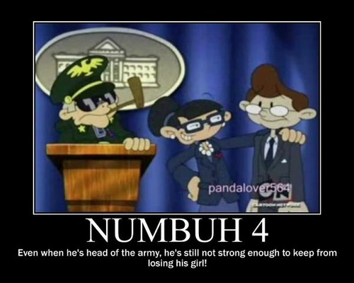 Numbuh 4 as an army general