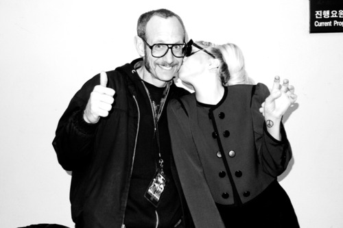 Photos of Gaga by Terry Richardson