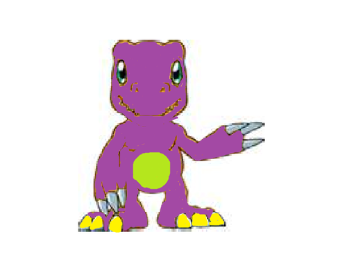 Purple Aguemon