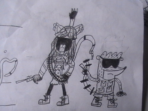 Rigby and Amy Black Opps