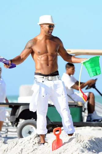 Shemar Moore in Miami