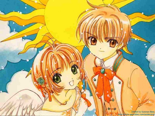 Syaoran and Sakura luv