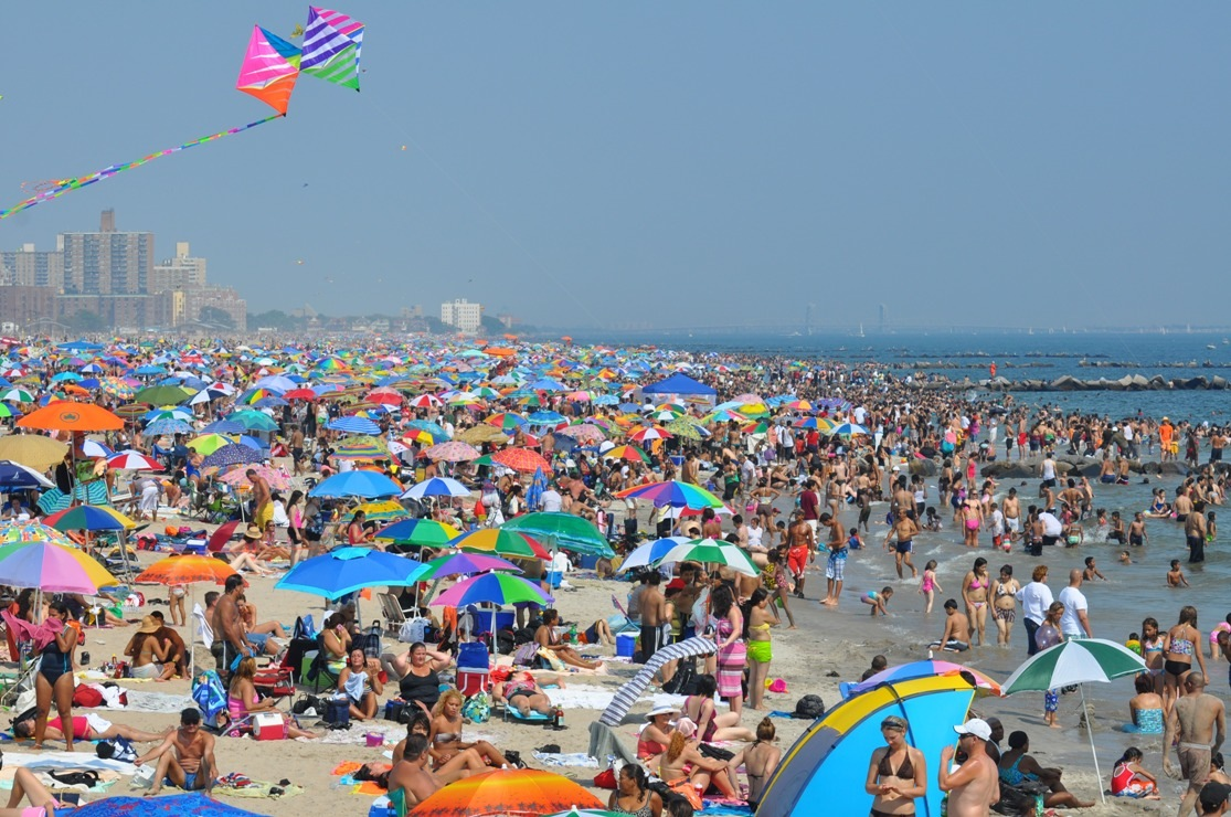Coney Island Images The Beach Hd Wallpaper And Background Photos