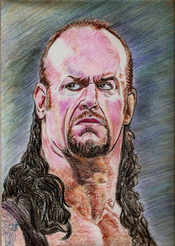 the Undertaker..my artwork