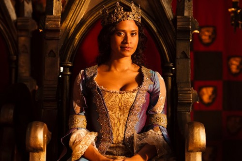 Angel as Queen Guinevere