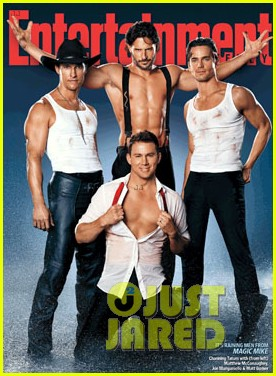 Channing Tatum Covers 'Entertainment Weekly' with 'Magic Mike' Cast