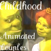 Childhood Animated Couples icona