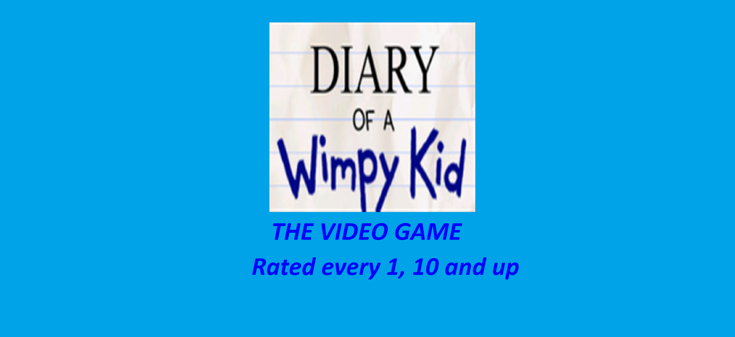 Diary Of A Wimpy Kid The Video Game Diary Of A Wimpy Kid Fan