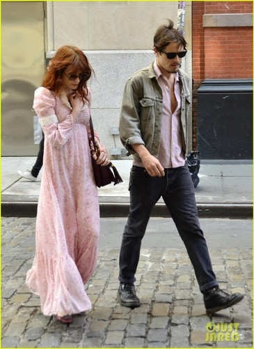 Florence Welch out shopping in New York