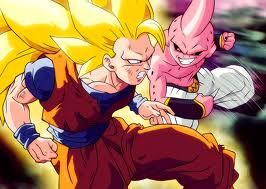 গোকু SSJ3 vs Kid Buu