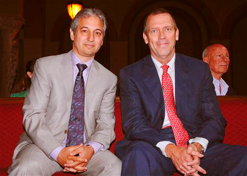 Hugh Laurie- House M.D. honored by the LA City Council 16.05.2012
