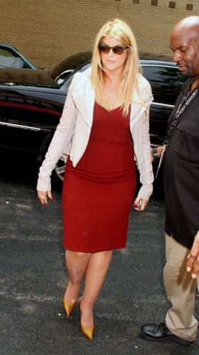 Kirstie Alley at 'The Wendy Williams Show' 2011