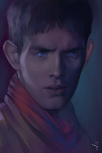 Merlin Portrait