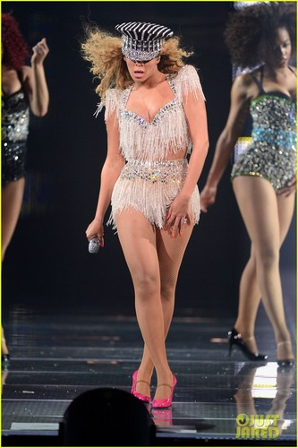 Beyonce: 秒 Night in Atlantic City!
