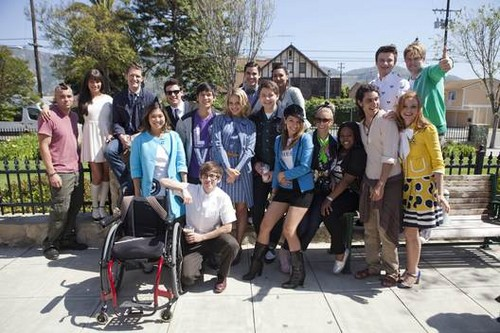 Glee behind the scenes last few episodes season 3