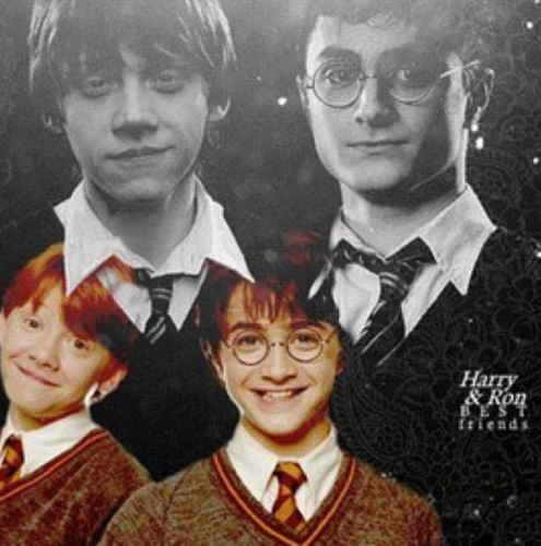 Harry & Ron: Best Friends Forever