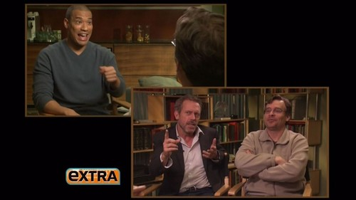 Hugh Laurie and Robert S.Leonard- interview Extra