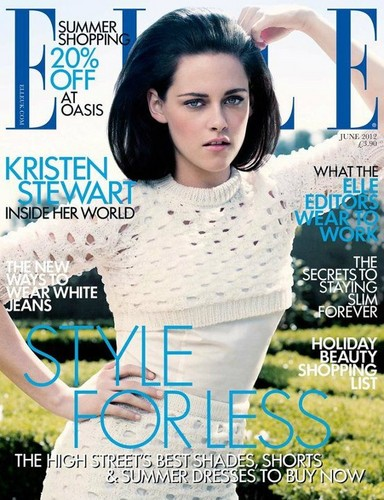 Kristen on ELLE UK