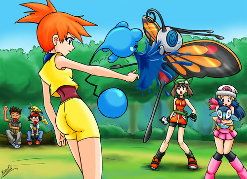 Misty battles May