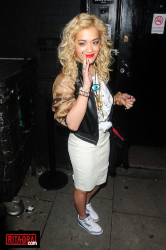 Rita Ora - Leaving Koko in Camden, London - May 15, 2012