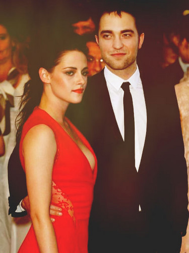 Robert and Kristen together in Cannes 2012