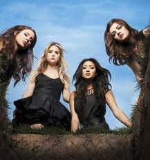 Spencer, Hanna, Emily, Aria