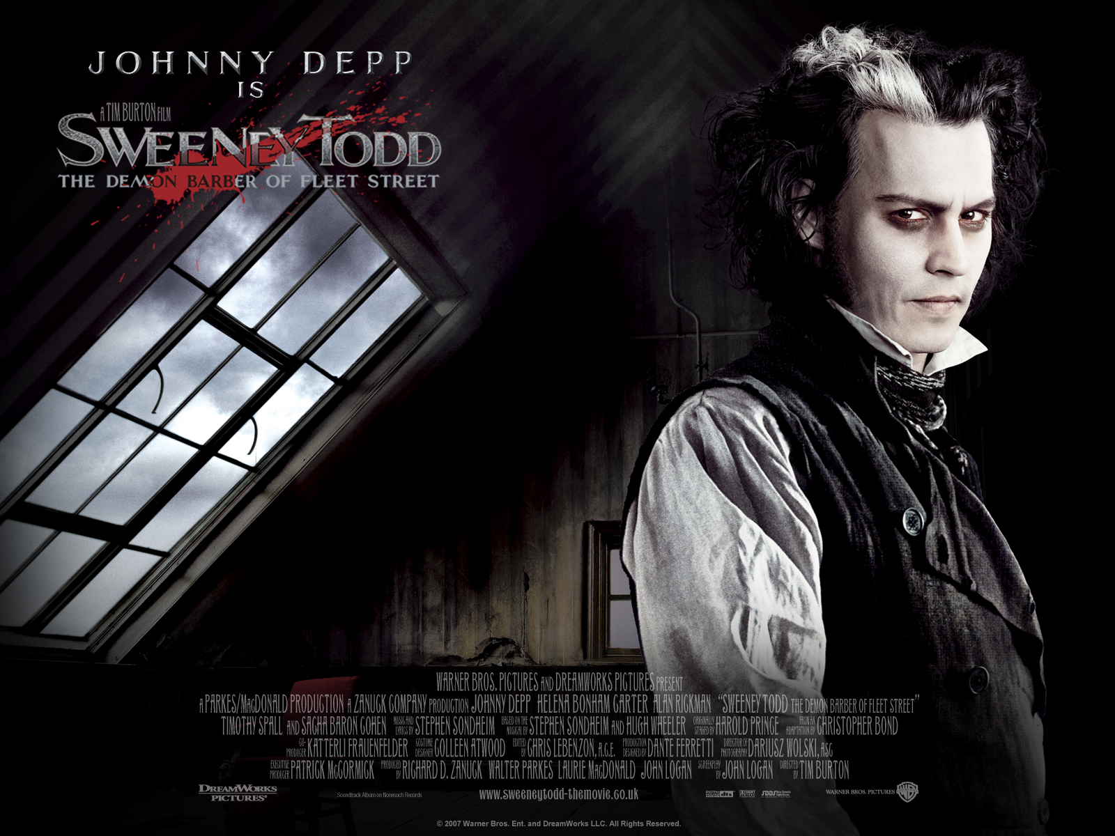 Sweeney Todd wallpapers