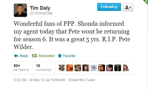 Tim Daly LEAVING Private Practice!!!