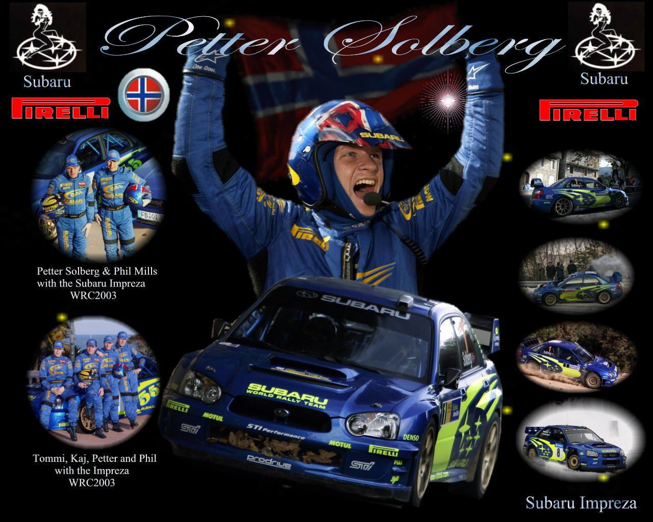 World Champion Petter Solberg 壁紙 30900747 ファンポップ