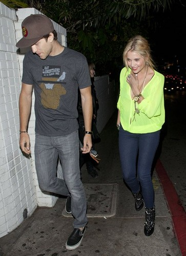 Ashley and Keegan @ chateau Marmont in West Hollywood